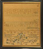 Sampler from Stephen & Carol Huber by Sarah Ayres