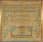 sampler from Stephen and Carol Huber by Frances Conant
