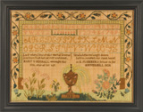 Haverhill, MA sampler by Mary Kimball from Stephen and Carol Huber