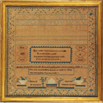 sampler from Stephen and Carol Huber by Martha Rhodes