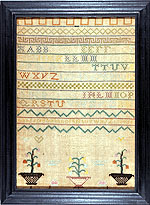 sampler by Mary Rogers from Huber