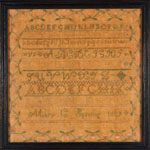 Ohio sampler from Stephen & Carol Huber by Mary Spining
