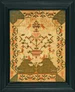 Antique sampler dated 1785
