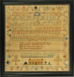 sampler from Stephen and Carol Huber by Prudence Young